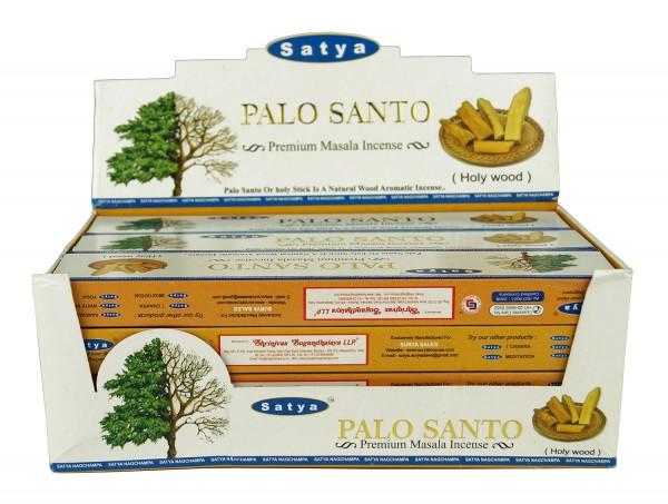 Satya Palo Santo Räucherstäbchen 12 x 15g = 180g