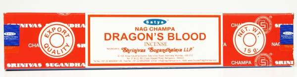 Räucherstäbchen Satya Nag Champa DRAGON´S BLOOD - 15g