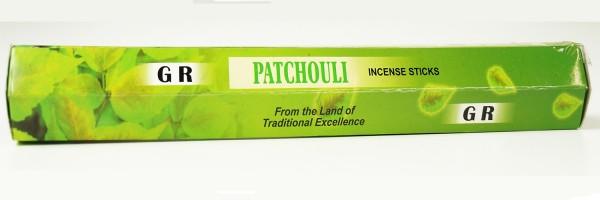 Räucherstäbchen G.R. Patchouli - 20g