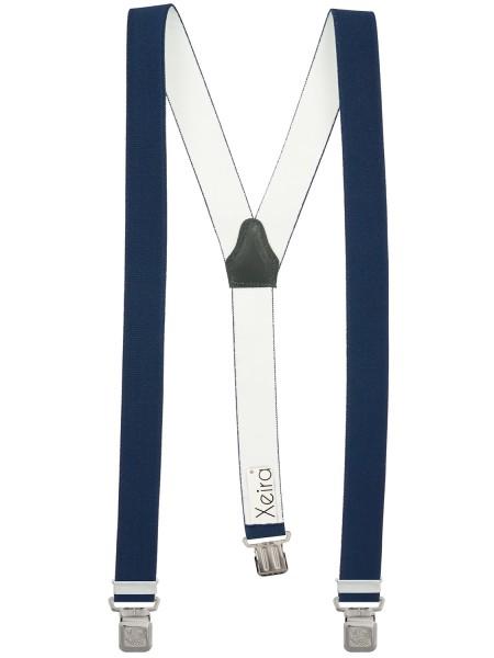 Hochwertige Hosenträger in Trendigen Uni Farben mit Extra Starken Adler Clips Design