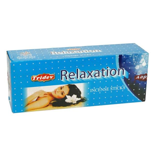 Räucherstäbchen Tridev Relaxation 6 x 20g Großpackung 120g