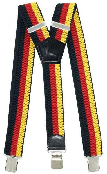 Hosenträger mit 3 Adler Clips 40mm Breit - Deutschland