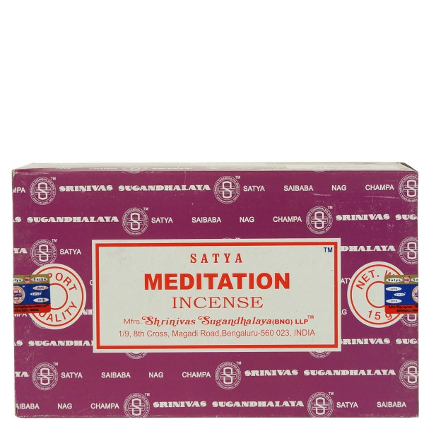 Satya Meditation Räucherstäbchen 180g