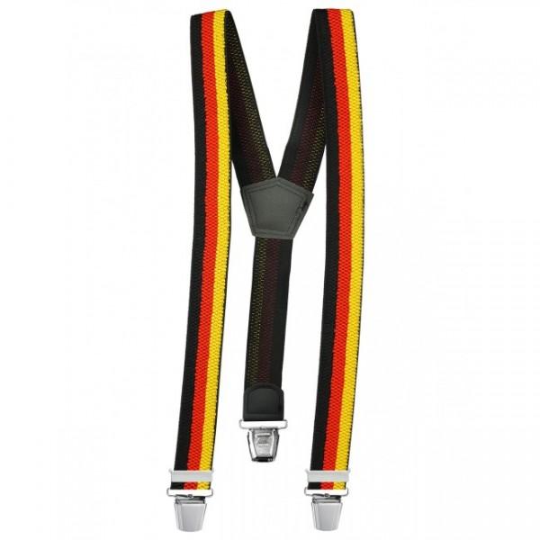 Hosenträger in Trendigen Deutschland Design mit XL Clips