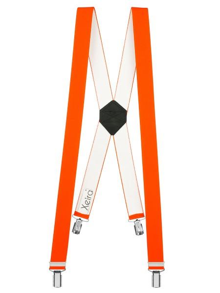 Neon Hosenträger in X Design