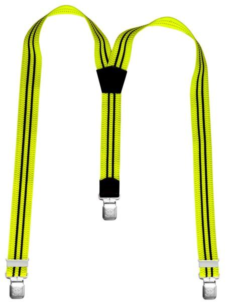 Hosenträger in Trendigen Neon Farben mit XL Adler Clips