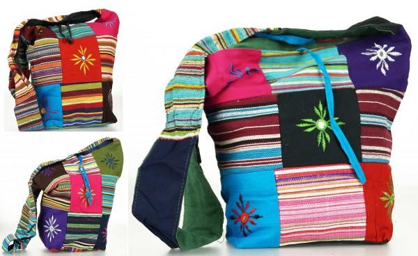 Trendige Ethno Hippie Indische Patchwork Baumwolle Taschen