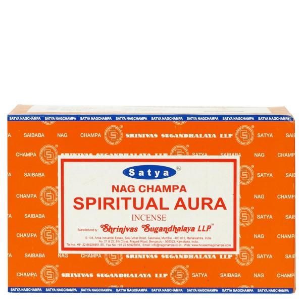 Satya Nag Champa Spiritual Aura 180g Räucherstäbchen