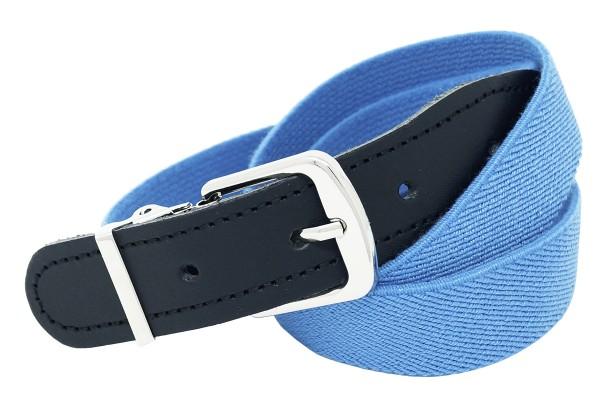 Kinder- Stretchgürtel Uni Blau