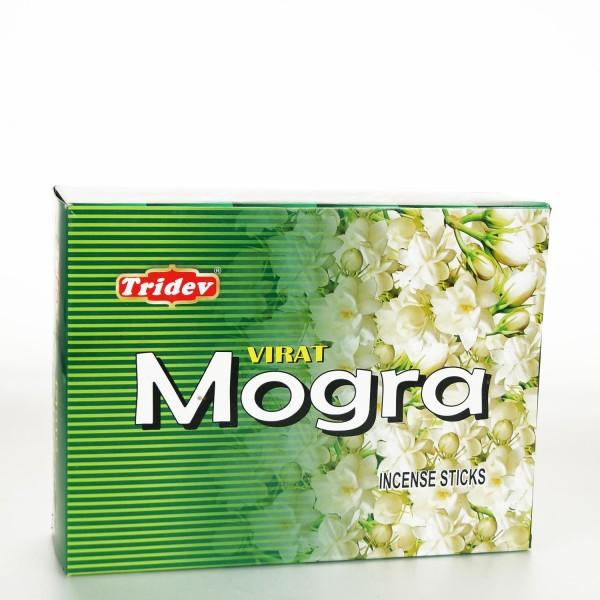 Räucherstäbchen Tridev Mogra 12 x 20g Großpackung 240g