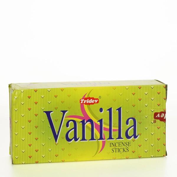 Tridev Vanilla Räucherstäbchen 6 x 20g = 120g