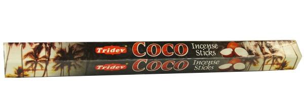 Räucherstäbchen Tridev COCO - 20g