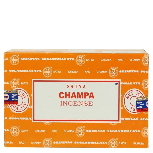 Satya Champa Räucherstäbchen 180g