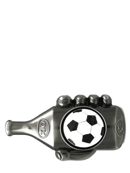 Bier / Fußball Schnalle für Wechselgürtel