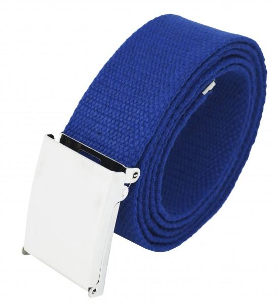 Hochwertiger Stoffgürtel in Uni Farben 4cm breiter für Damen und Herren