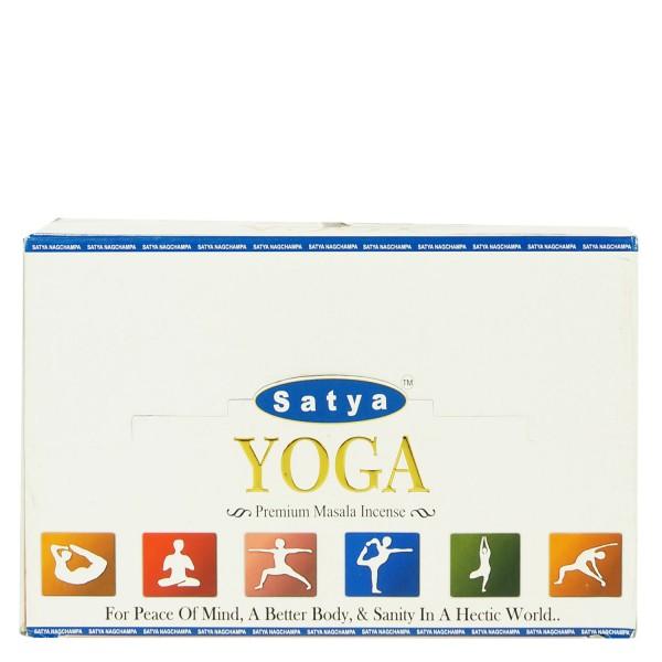 Satya Yoga Räucherstäbchen 180g