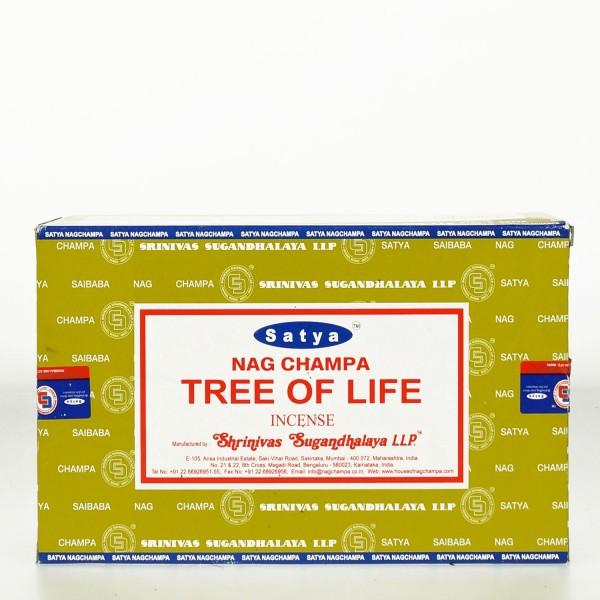 Satya Nag Champa Tree Of Life Räucherstäbchen 180g