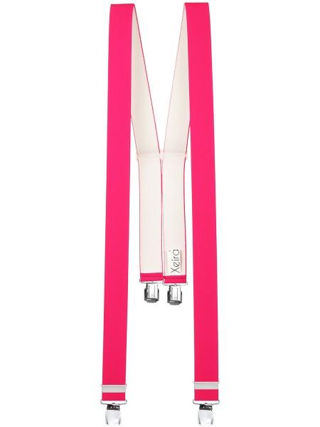 Hosenträger in Uni & Neon Farben mit 4 Extra Starken XL Clip