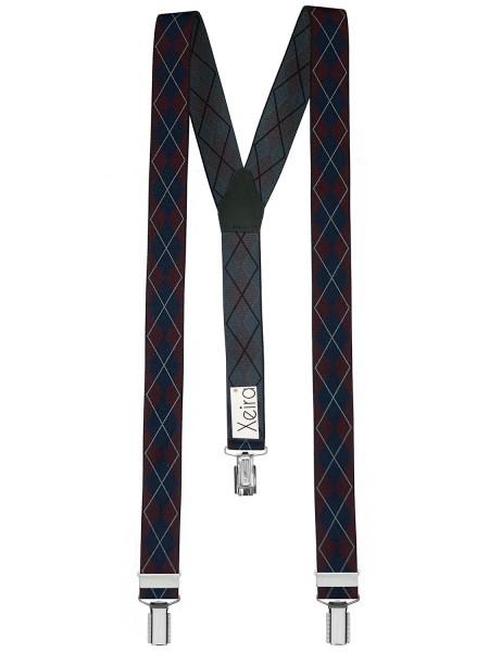 Hochwertige Hosenträger in Trendigen Retro Design