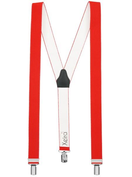Hosenträger in Uni Farben mit 3 Clips