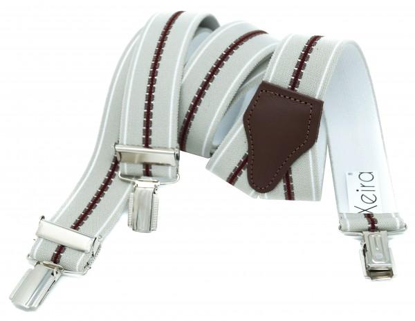 Hochwertige Hosenträger in Trendigen Gestreiften Design
