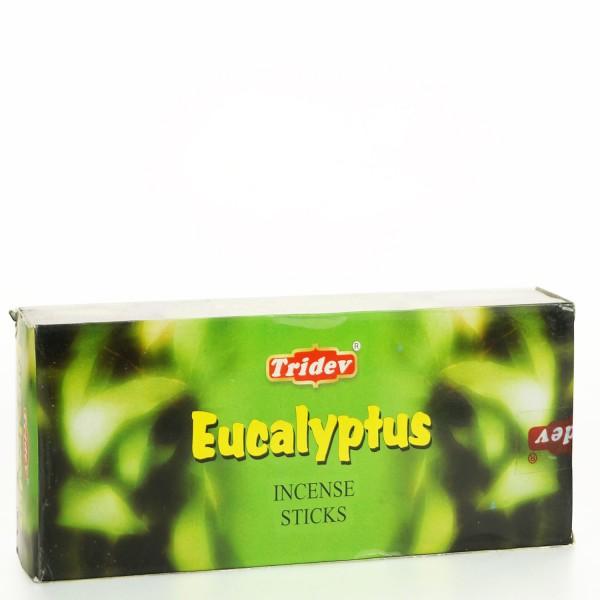 Tridev Eucalyptus Räucherstäbchen 6 x 20g = 120g