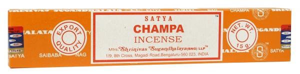Räucherstäbchen Satya CHAMPA - 15g - Incensestick
