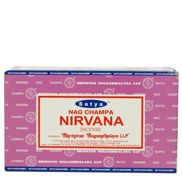 Satya Nag Champa Nirvana Räucherstäbchen 180g