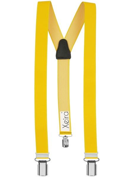 Uni Gelb mit 3 Clips