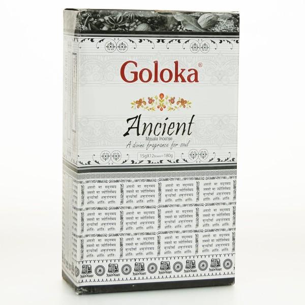 Goloka Ancient Räucherstäbchen 15g x 12 = 180g