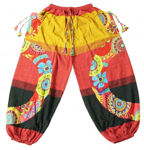Orientalische Hippie Haremshose / Aladin Hose / Pump Hosen für Damen und Herren