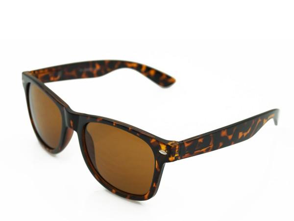 Trendige Sonnebrille Reto - Leoparden Design