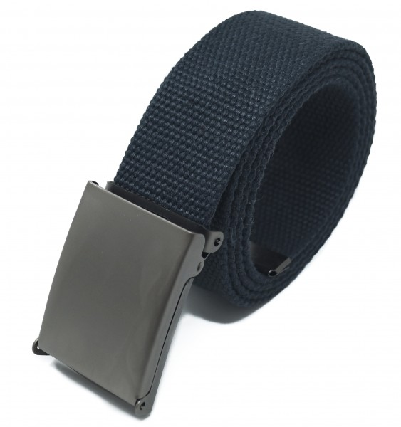 Hochwertiger 4cm breiter Stoffgürtel in Uni Farben für Damen und Herren