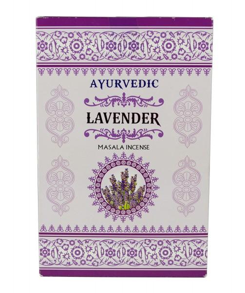 Ayurvedic Lavender Räucherstäbchen 12 x15g = 180g