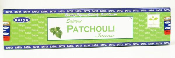 Räucherstäbchen Satya Supreme Patchouli - 15g