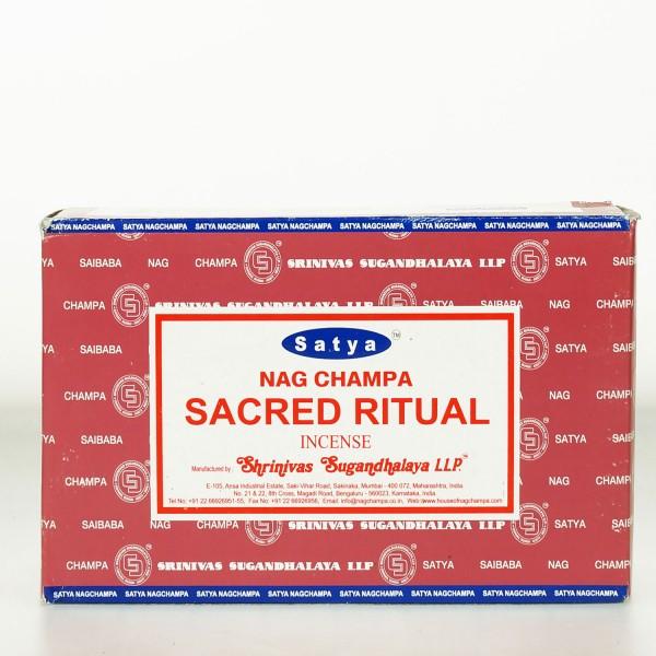 Satya Nag Champa Sacred Ritual Räucherstäbchen 180g