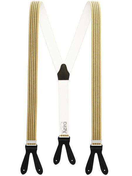 Hochwertige Hosenträger in Trendigen Punkte-Streifen Design