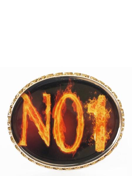 No1 Fire Schnalle für Wechselgürtel
