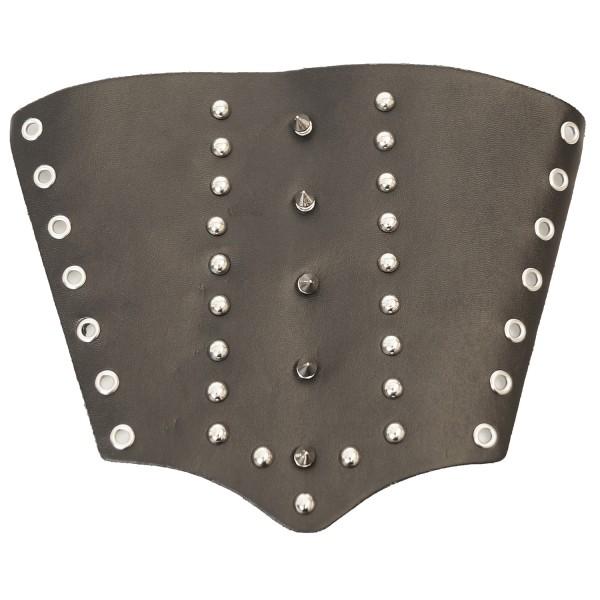 Gothic & Punk - Armband mit Spitznieten/Conenieten zum Schnüren