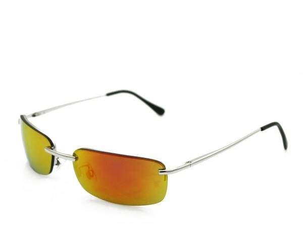 Trendige Sonnenbrille Verspiegelt Design