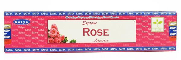 Räucherstäbchen Satya Supreme Rose 15g