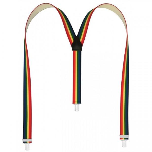 Modische Hosenträger in Multicolor