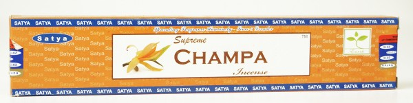Räucherstäbchen Satya Supreme CHAMPA - 15g