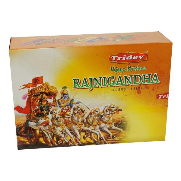 Tridev Vijaya Krishna RAJNIGANDHA 12 x 20g Großpackung 240g