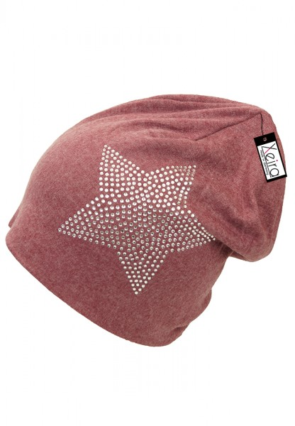Beanie in trendigen Star Design