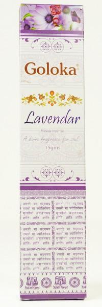 Räucherstäbchen Goloka Lavender Masala - 15g