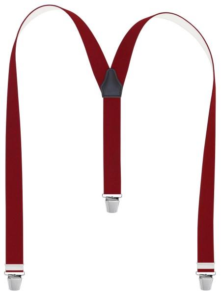 Hosenträger in Uni Farben - EXTRA LANG und XL Clips