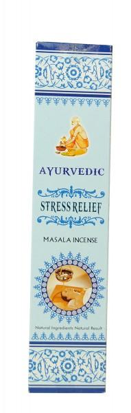 Räucherstäbchen Ayurvedic STRESS RELIEF Masala - 15g
