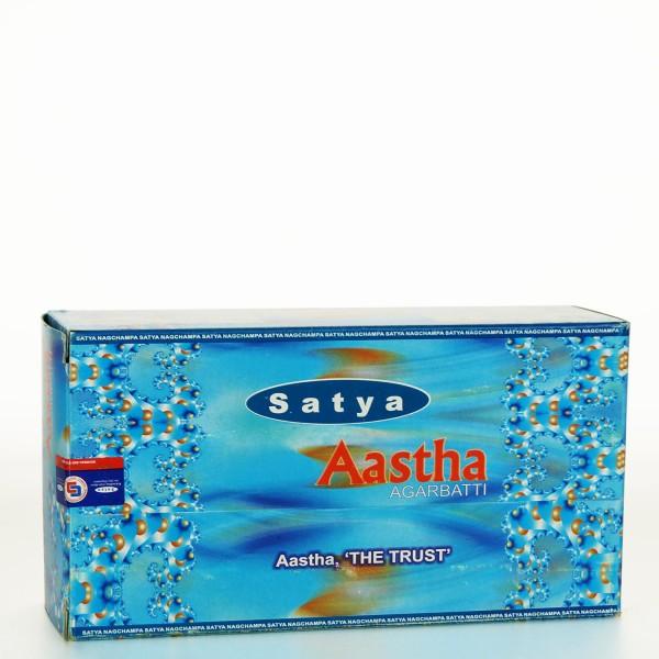 Satya Aastha Räucherstäbchen 15g x 12 = 180g