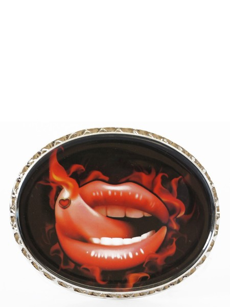 Red Lips Schnalle für Wechselgürtel